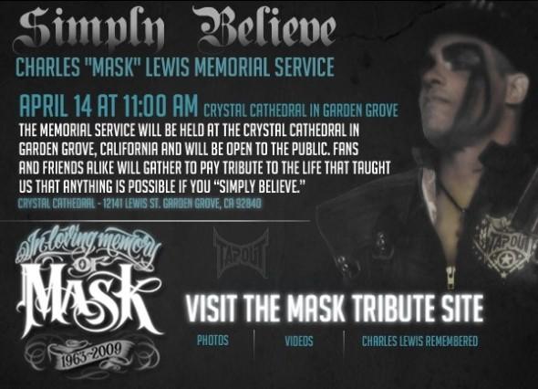 charles mask lewis memorial service